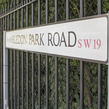 Wimbledon Park Road Sign