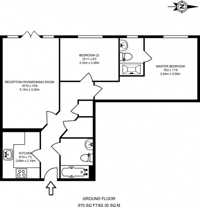 Floorplans For St. Marks Hill, Surbiton