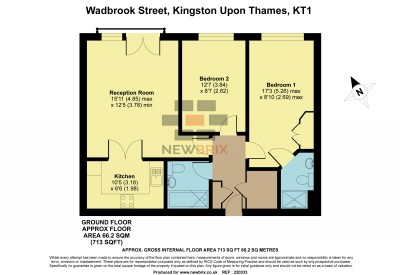 Floorplans For Wadbrook Street, Kingston Upon Thames