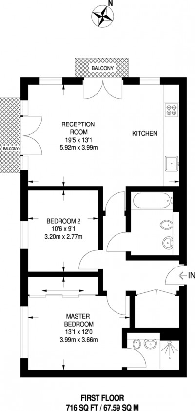 Floorplans For Bader Way, London