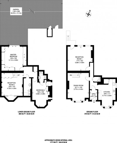 Floorplans For West Hill, London