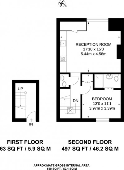 Floorplans For West Hill, Putney