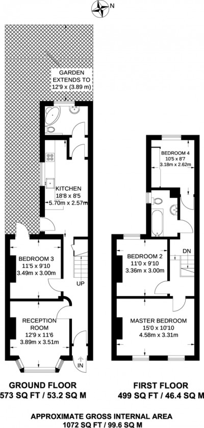 Floorplans For Villiers Road, Kingston Upon Thames
