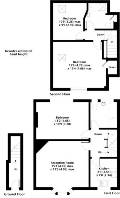 Floorplans For West Barnes Lane, New Malden, Merton