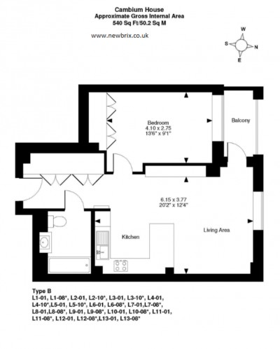 Floorplans For Palace Arts Way, Wembley