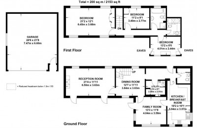 Floorplans For Churt, Farnham