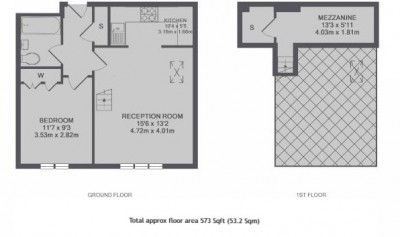 Floorplans For Sopwith Way, Kingston Upon Thames