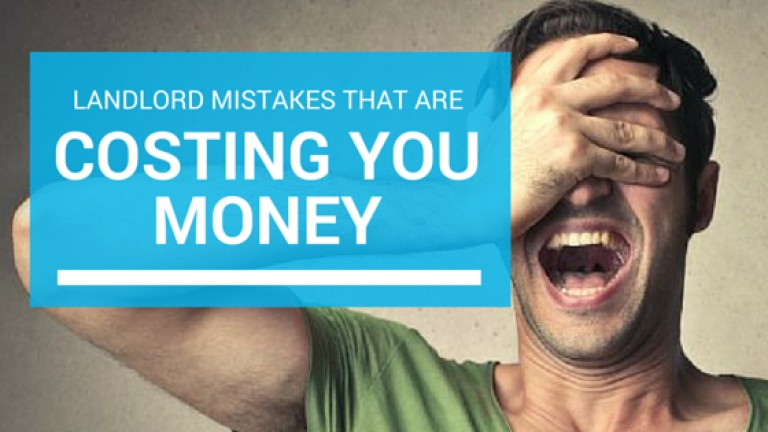 Top 5 Landlord Mistakes